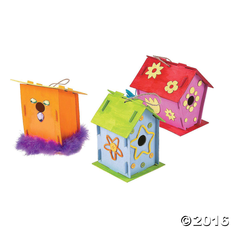 26+ Bird house craft kit information
