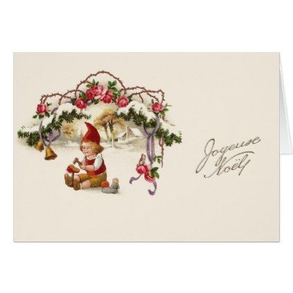 Vintage french christmas greeting card french christmas vintage french christmas greeting card m4hsunfo