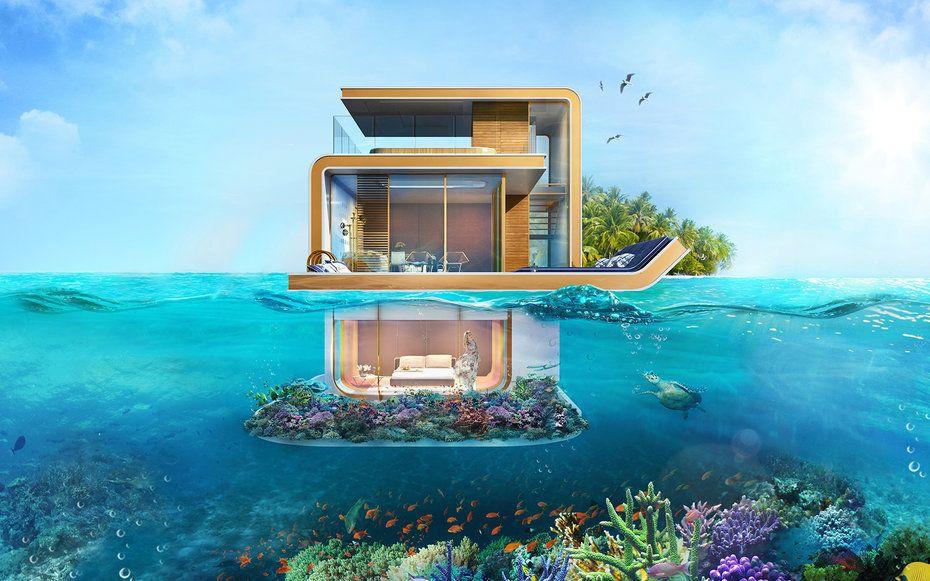 Una casita así en Dubai?