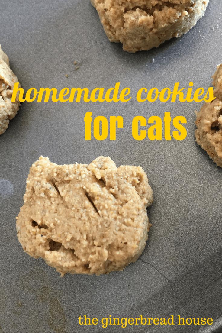 Homemade Cookies For Cats Homemade Cookies Pet Treats Recipes