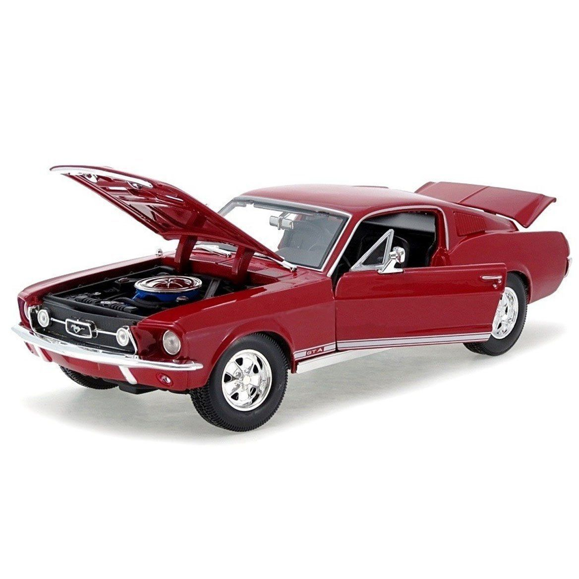 diecast auto world maisto 1 18 scale 1967 ford mustang. Black Bedroom Furniture Sets. Home Design Ideas