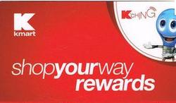 Kmart Shop Your Way Rewards Card Reward Card Kmart Rewards