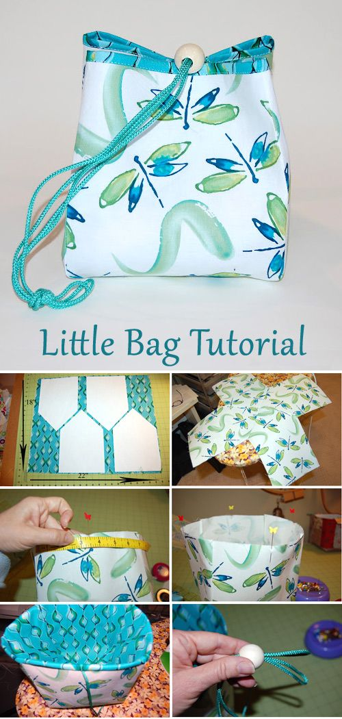 Little Bag Free Sewing Tutorial