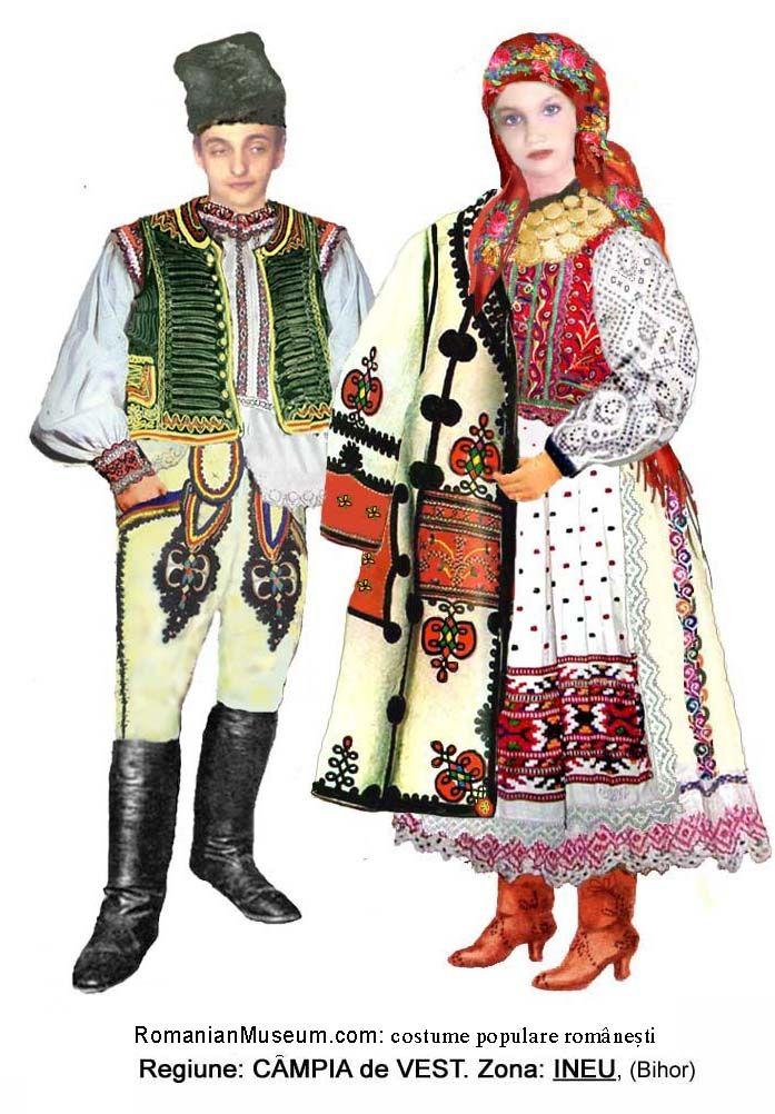 Romanian folk costume - Transylvania - Bihor | Folk Costumes ...