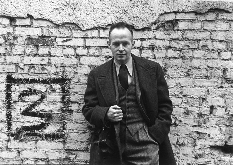 Henri Cartier-Bresson, New York, NY, 1947 by Arnold Newman
