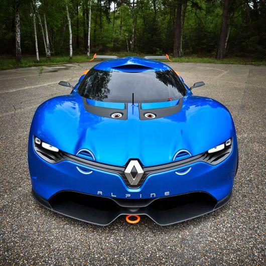 Renault Concept Car: Renault Alpine A110-50 Concept Car (avec Images)