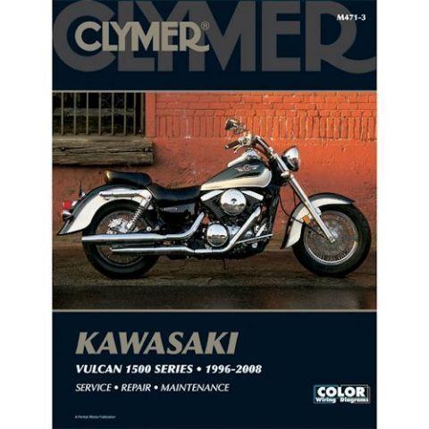 Clymer Manual Kawasaki Vulcan 1500 1996 2008 Kawasaki Vulcan 1500 Kawasaki Vulcan Clymer