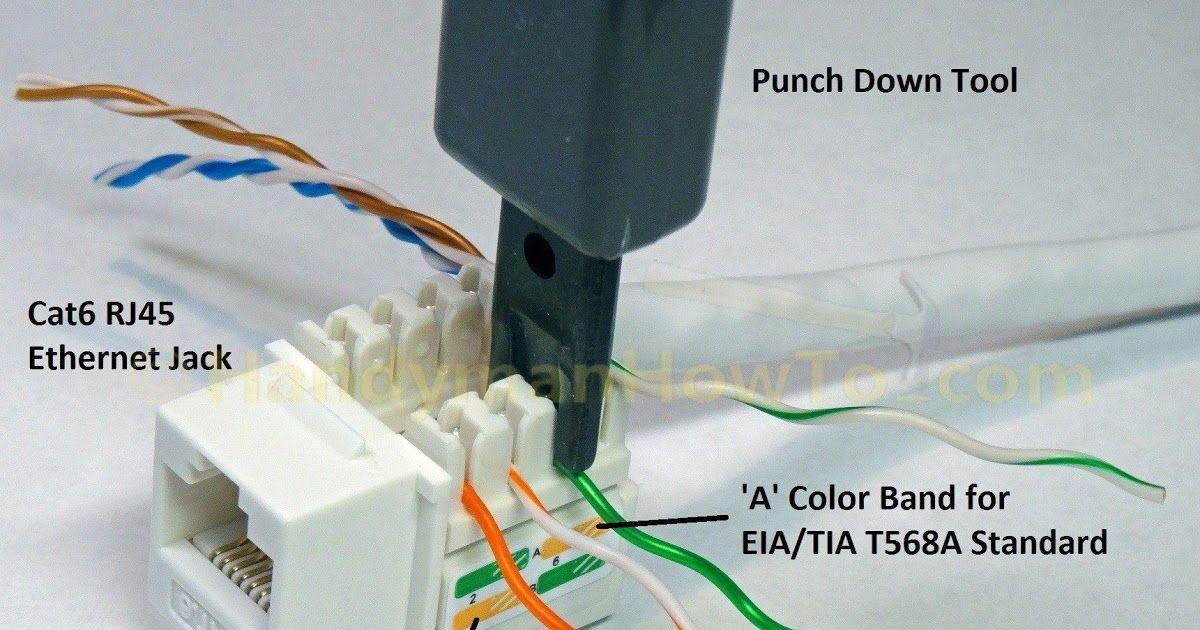 cat5 phone jack wiring diagram  auto wiring diagram power