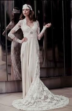 1920 S Style Wedding Dress On Pinterest 1920s Dresses