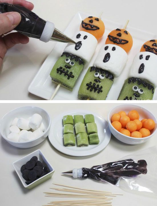 frightful fruit kebabs 40 halloween party food ideas for kids easy halloween treats for kids