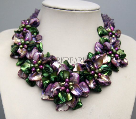 flower necklace,beadwork necklace,bib necklace,statement necklace,bridesmaid gifts,Bead Necklace, Stand Necklace