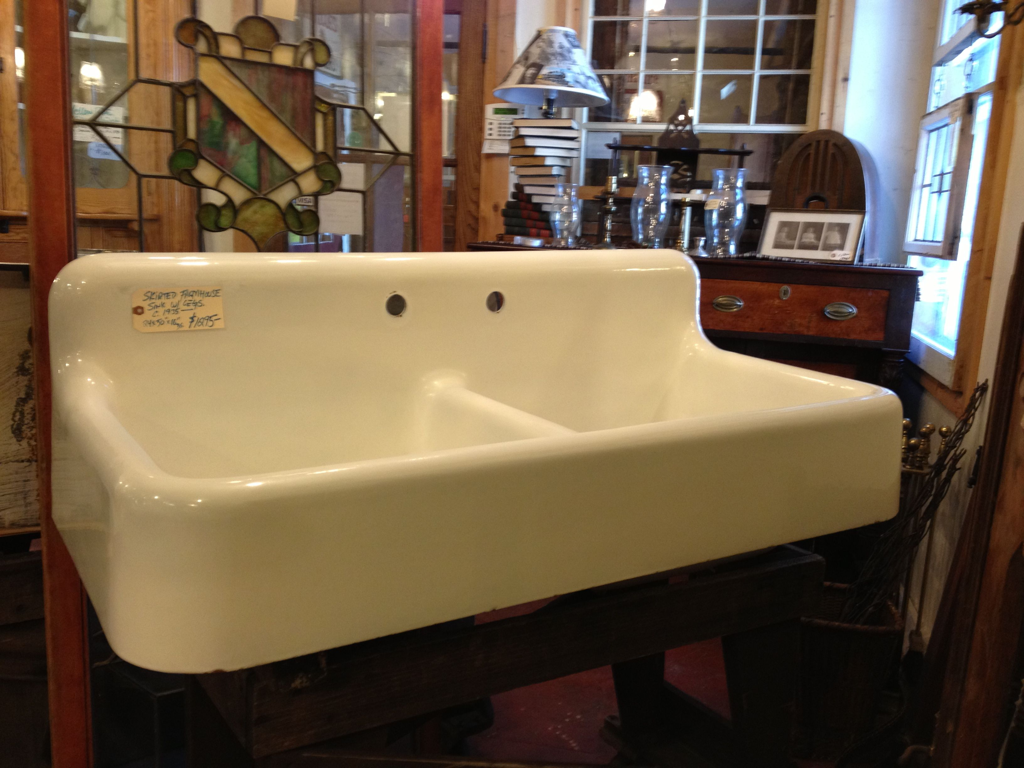 Dream sink on sale at Masons Brothers Architectural Salvage in ...