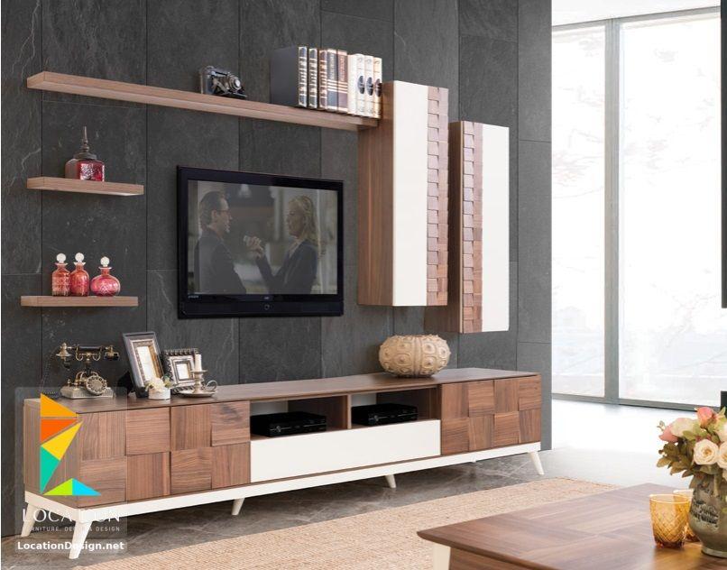 تصميم مكتبات مودرن 2019 افكار لتعليق التلفزيون في الجدار Dining Room Ceiling Online Furniture Stores Furniture
