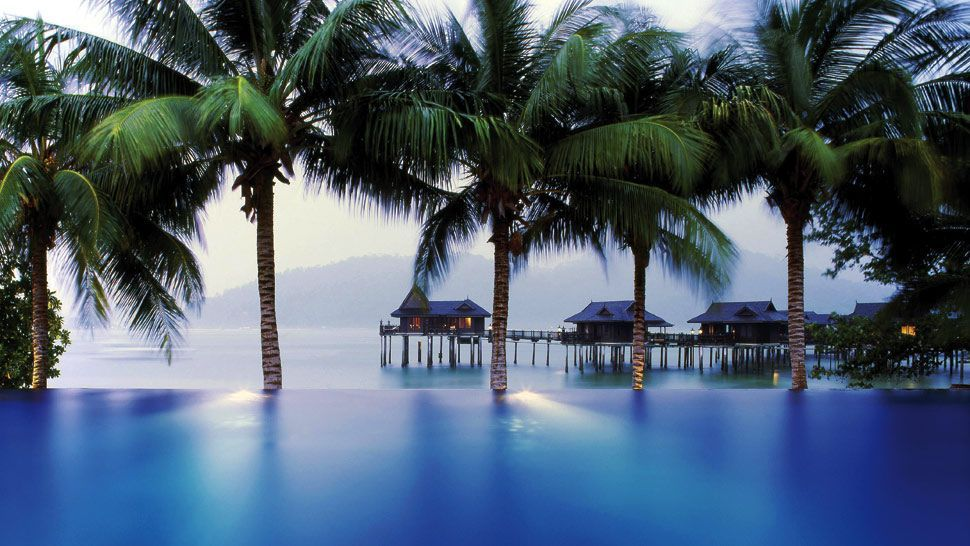 Pangkor Laut Resort. Privately-owned island on west coast of ...