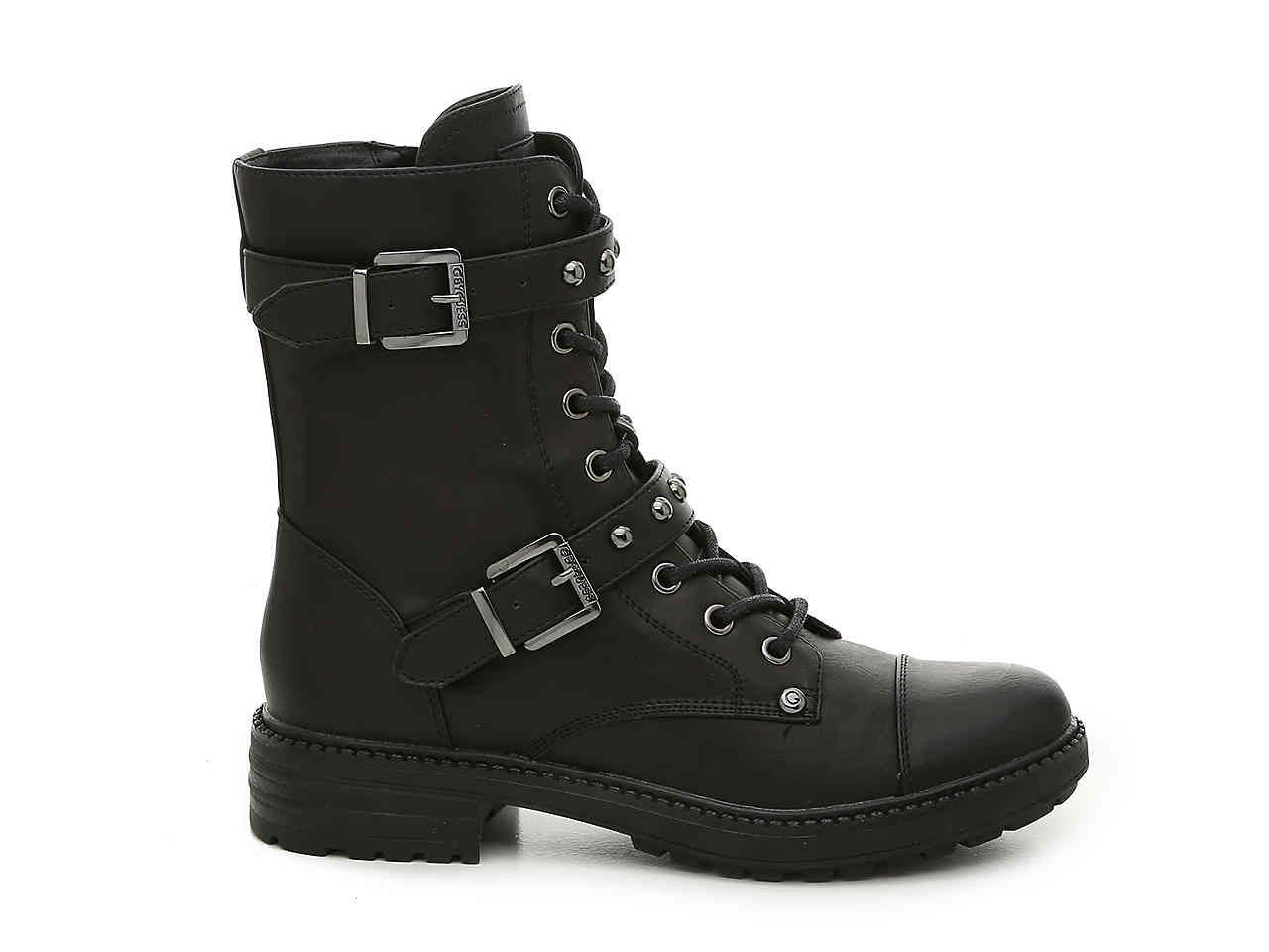 a5d809b70 G by GUESS Granted Combat Boot Women's Shoes | DSW | Clothing ...