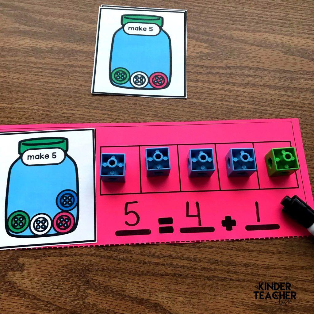 Decomposing Math Center Activities
