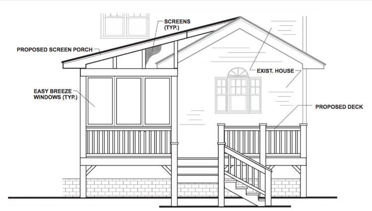 Behind The Scenes A Few Favorite Finds Deck Plans House Exterior Floor Plans