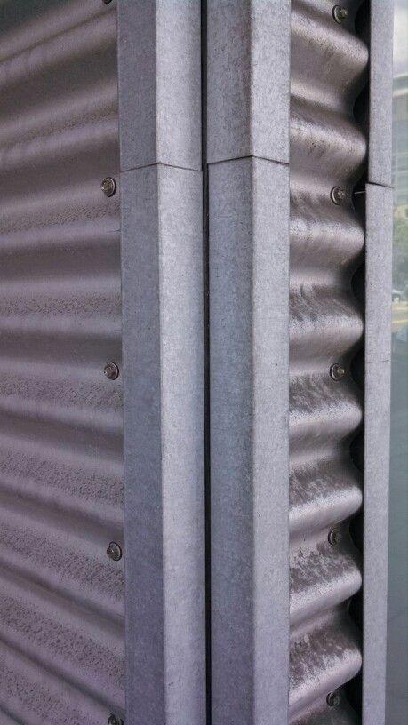 Corrugated Metal Panel Corner Detail Corrugated Metal Siding Metal Siding Corrugated Metal