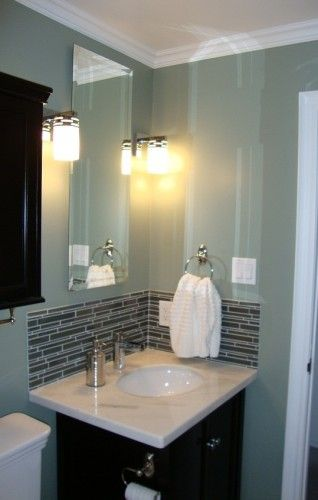 Corner Sink With Backsplash Powder Room Vanity Backsplash Corner Toilet Beautiful Bathrooms