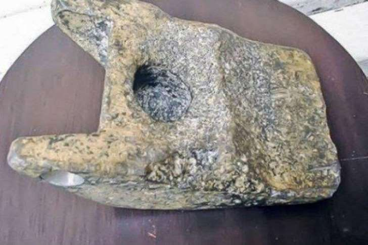 A piece aluminium that looks as if it was handmade is being hailed as 250,000-year-old proof that aliens once visited Earth
