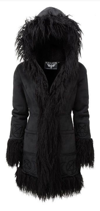 KILLSTAR - Die Anna Almost Infamous faux fur coat.