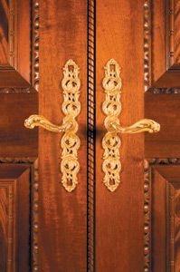 These Louis XV Door Levers And Matching Escutcheon Plates Were Made To  Order By P.E. Guerin