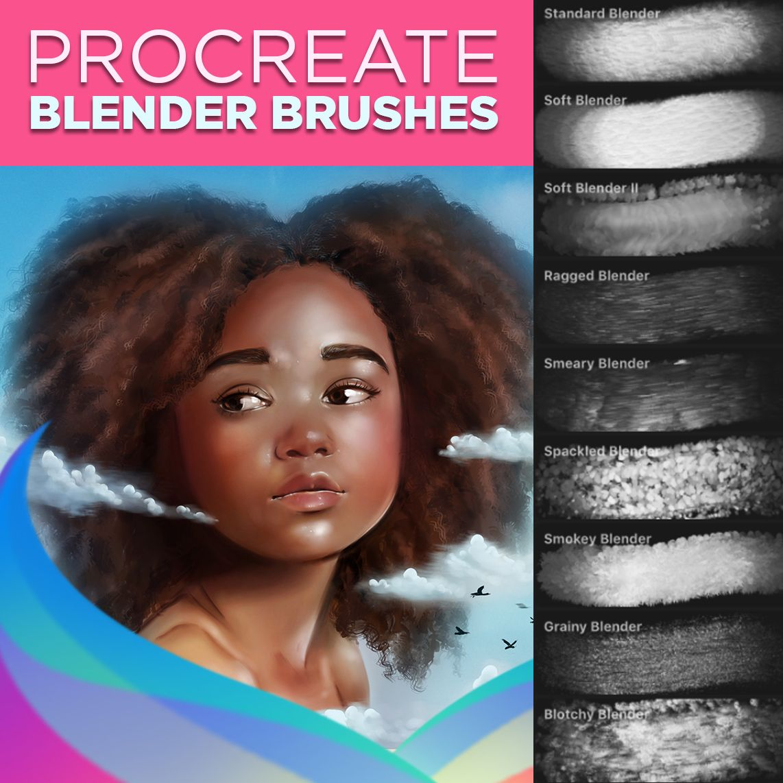 Procreate Brushes For Blending Procreate Brushes Procreate Digital Painting Tutorials