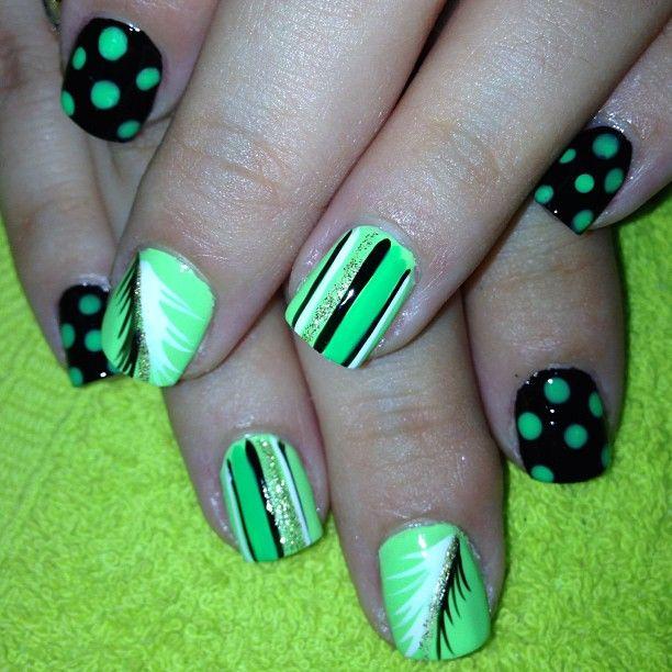 Instagram photo by spacionails   nail designs   Pinterest