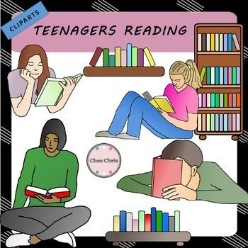 Teenagers reading ! In this set, you will get 4 teenagers reading + 3 bookshelves. Each image comes in colour and in B&W.High quality: 300 dpi / PNGRelated ItemsCLIPARTS: Teenagers                     USAGE This product is for your personal and your classroom use only.It is to be used by the original downloader only.