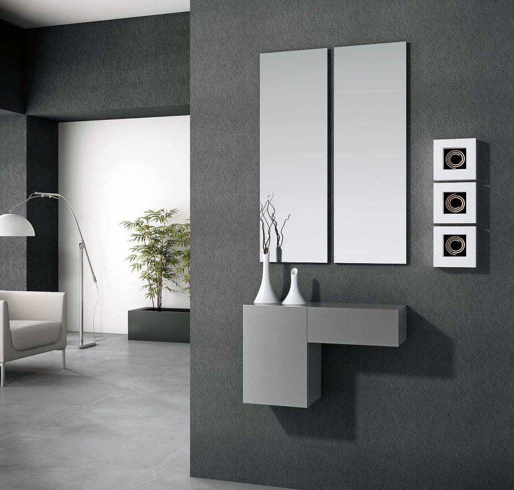 Recibidor con espejos y consola 1306 ar12 muebles - Muebles casanova catalogo ...