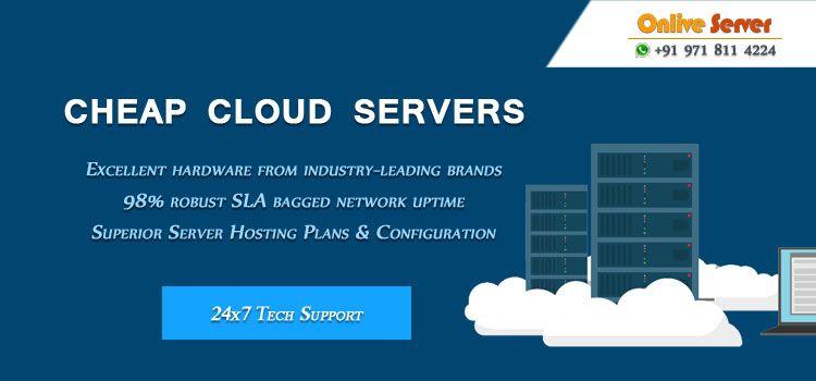 Cheap Cloud Server Hosting in 2018 | UK Dedicated Server Hosting