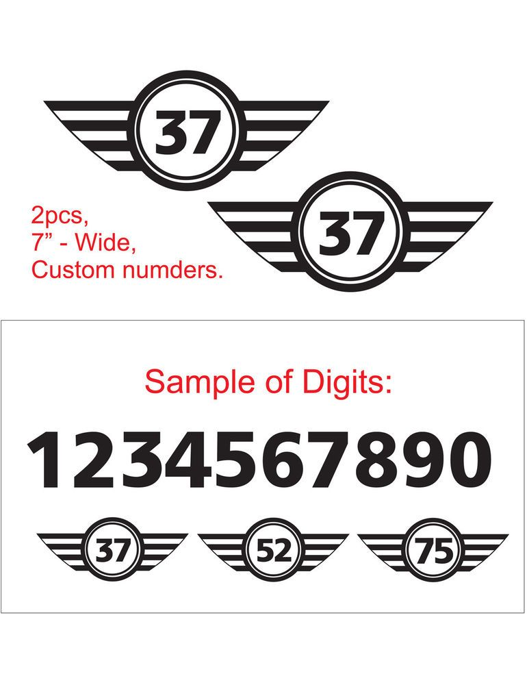 Details About 0045 2pcs Not Normal Vinyl Emblem Decal Sticker