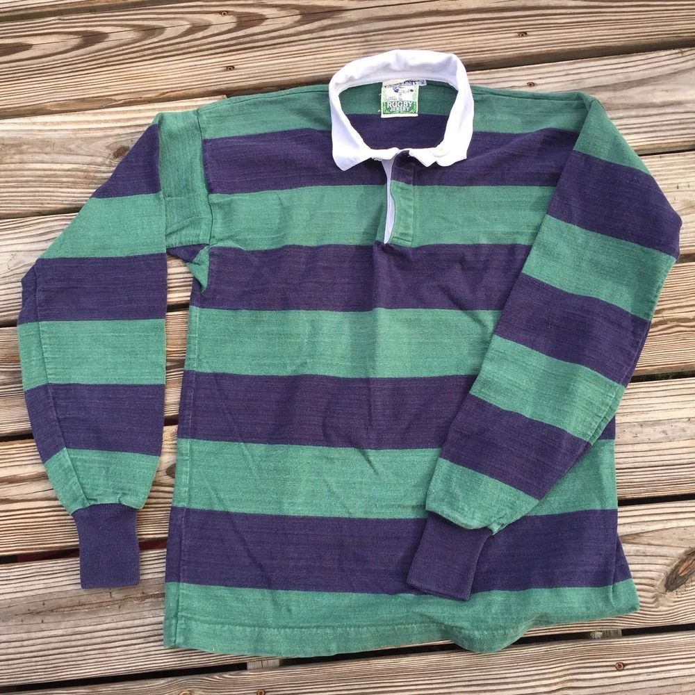fae09751253648 Rugby Style Long Sleeve Shirts