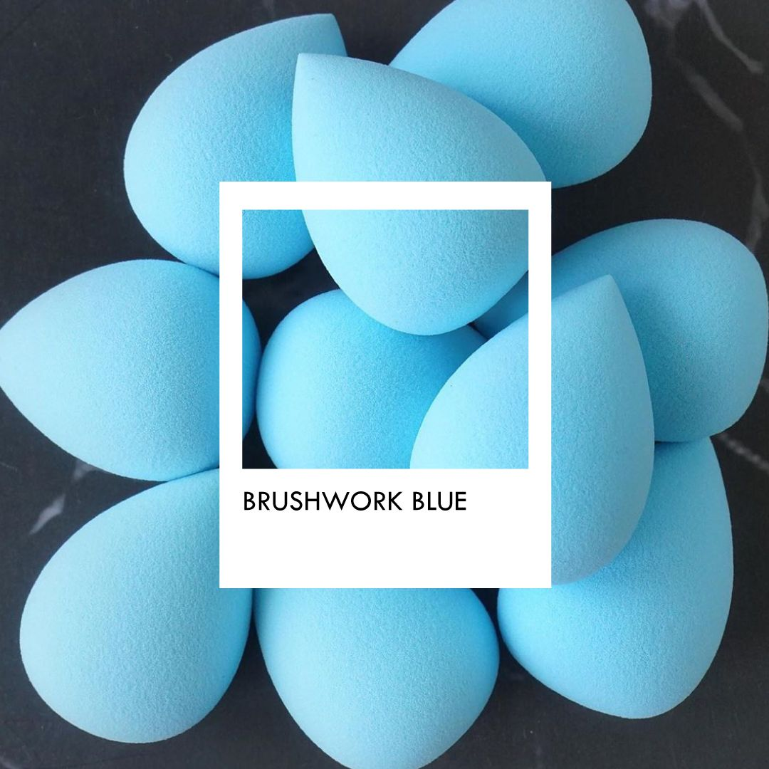 SUPER GENTLE AND LATEX-FREE SPONGE FOR MAKEUP BLENDING. HIGH QUALITY MAKEUP SPONGE FOR BLENDING CREAM PRODUCTS. THE SOFTNESS OF THE SPONGE ENSURES GENTLE TOUCH ON THE FACIAL SKIN, YET EFFECTIVELY BLENDS MAKEUP SMOOTHLY AND SEAMLESSLY. #BrushworkCosmetics #BrushworkCulture #MakeupSponge #BlendingSponge