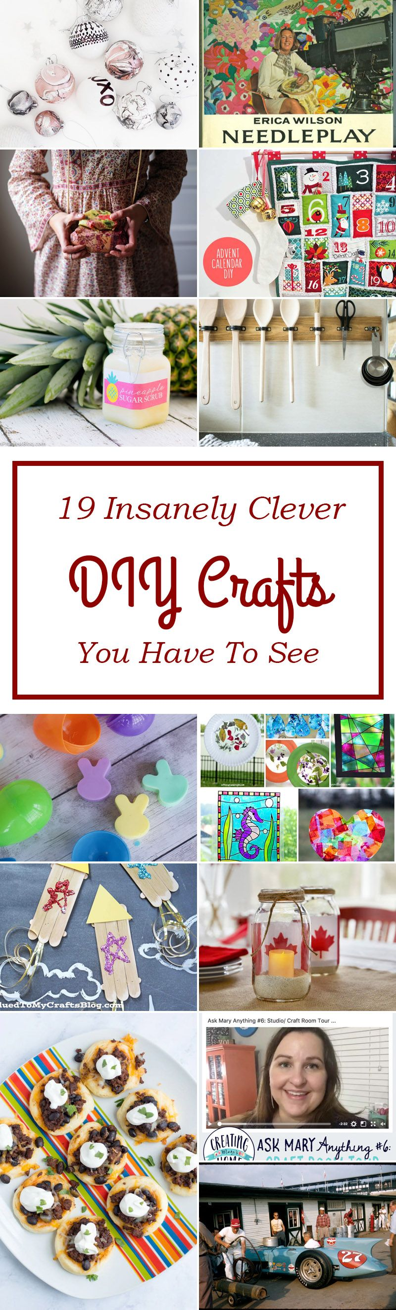 19 Insanely Clever Diy Crafts You Have To See