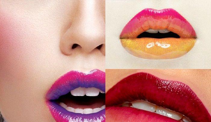 Labios bicolor, la nueva tendencia en maquillaje