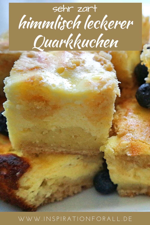 Quarkkuchen Zarter Einfaches Schnelles Sehr Leckeres Rezept Rezept Lecker Quarkkuchen Rezepte