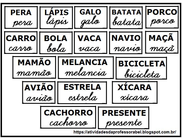 Jogo Trilha Das Palavras Para Imprimir Atividades Letra E