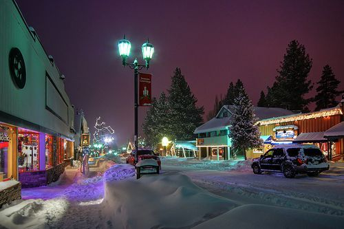 Big Bear Village Christmas.Big Bear Ca Christmas The Village At Big Bear Lake