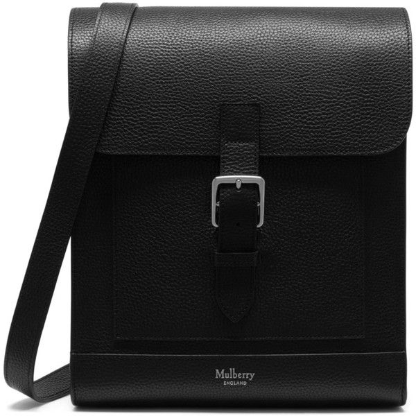 Mulberry Chiltern Messenger ($850) ❤ liked on Polyvore featuring men's fashion, men's bags, men's messenger bags, black, mens messenger bags, mens leather messenger bag, mens satchel messenger bag and mens leather satchel messenger bag