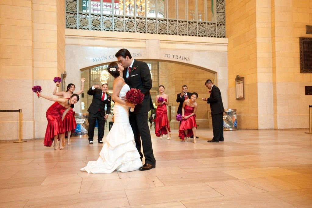 Sweet Dancing In Grand Central Station Wedding Beyond The Norm Pinterest Backdrops Weddings And