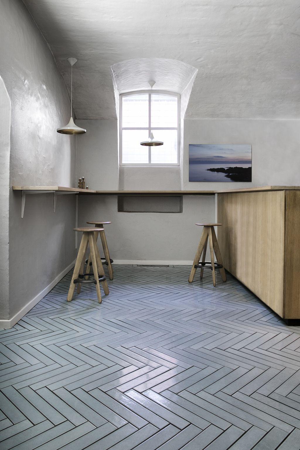 Made A Mano Flooring Grey Kitchen Floor Made A Mano