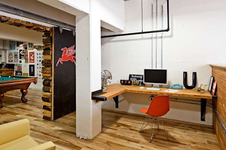 Design Bureau Perfect Custom Built In Desk Interiorinspiration Office Interior Design