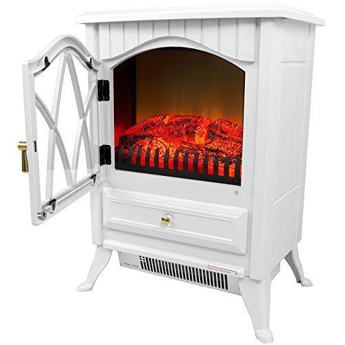 Retro Style Floor Freestanding Vintage Electric Stove Heater Fireplace Fireplace Heater Stove Heater Portable Fireplace
