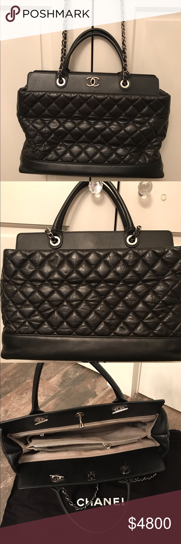 Gorgeous CHANEL bag The bag is a little used since it is old but still in  great condition! Comes with bag as well. Used with tag CHANEL Bags 3e9be8a0a6612