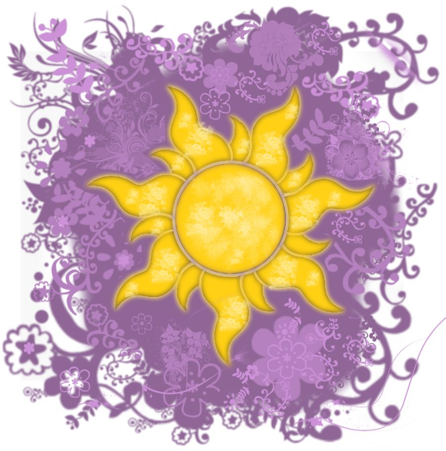 Flower Gleam And Glow With Images Tangled Sun Disney Art Disney Tattoos