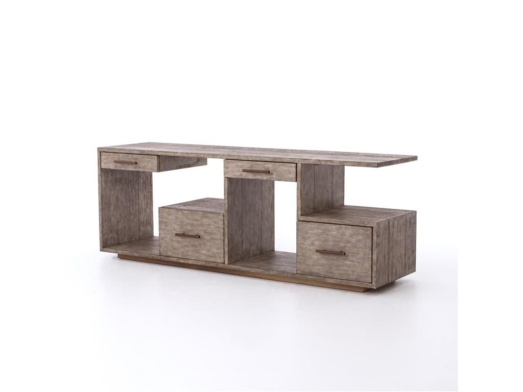 Four hands home office debbie console table driftwood furniture four hands home office debbie console table driftwood geotapseo Images
