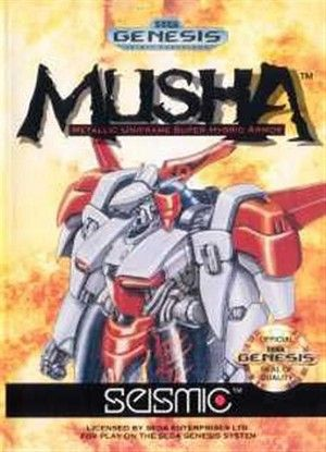 Musha Sega Genesis Sega Genesis Games Sega Sega Genesis