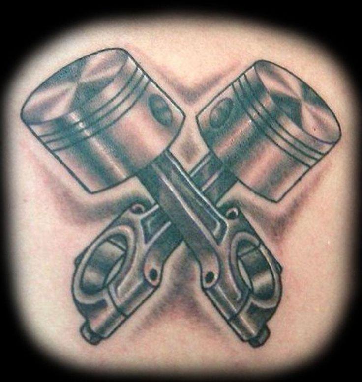 D277b3041c2d43dfa01fc8434270a05f Jpg 736 778 Piston Tattoo Hand Tattoos Tattoo Designs