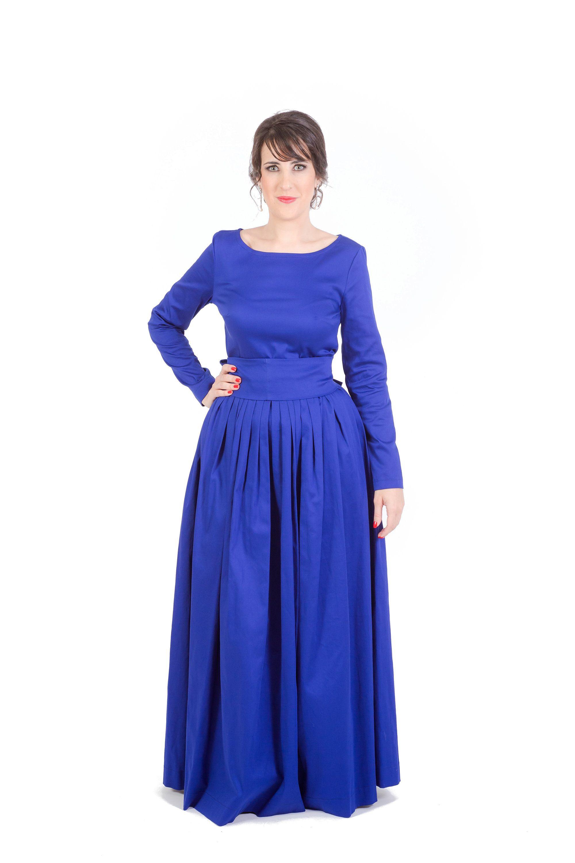 27++ Navy blue long dress ideas info